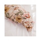 XL-tetradoek - Garden floral (Rose pink)