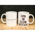 Koffiemok - Opa in slow motion