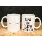 Koffiemok - Opa in slow motion