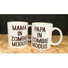 Koffiemok - Vake in zombie modus