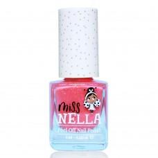 Abrikoosroze nagellak met glitterschijn - Marshmallow overload