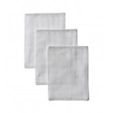 Set van 3 witte tetrawashandjes