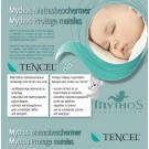 Waterdichte matrasbeschermer éénpersoonsbed- tencel