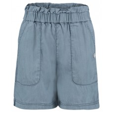 Soepel jeanskleurig shortje - light blue wash beeville