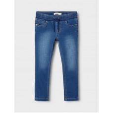 Donkerblauwe jeansbroek - Nmmrobin dnmthayers dark blue denim