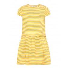 Geel gestreept zomers kleedje - Petulla dress camp cadmi
