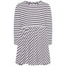 Zacht kleedje met strepen-  kasa stripes snow