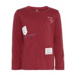 Bordeaux t-shirt never grow up - Karsten ruby wine