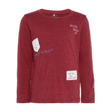 Bordeaux t-shirt never grow up - Karsten ruby wine