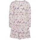 Lichtroze kleedje met bloemenprint - Lamia  - maat 80 (Geboortelijst Anouk B.)