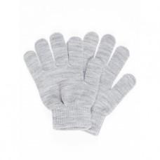Grijs melange handschoenen - nitmagic gloves grey melange Noos