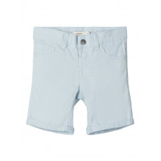 Lichtblauwe short - Nmmsofus twisak long short camp cashmere blue