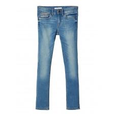 Lichtblauwe jeansbroek - Nkmtheo dnmtistic pant noos medium blue denim