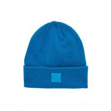 Petrolblauwe muts - Nkmmilki knit hat mykonos blue