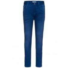 Helblauwe soepele extra slim jeansbroek - basic nittiggo medium blue