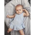 Mouwloos linnen kleedje + luierbroekje - nbffatina spencer - maat 56 (Geboortelijst Polly B.)