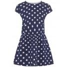 Blauw kleedje met sterretjes - nmfvigga dark sapphire