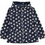 Blauwe regenjas met madeliefjes - nkfmello jacket daisy