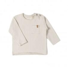 Beige -shirt met lange mouwen - Longsleeve dust