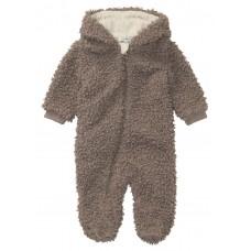 Grijze teddy onesie - Ruma cinder