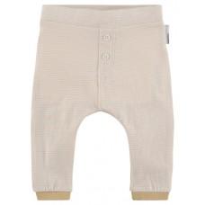 Ecru gestreept baggy babybroekje - pants harem slim kalbe yellow