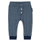 Blauw broekje met raster - curved leamy