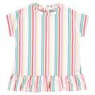 Tuniekkleed met kleurrijke streepjes - rotonda