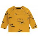 Okergele t-shirt visjes - Regular t-shirt mauldin mineral yellow