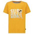 Okergele t-shirt surf - Regular t-shirt jensen golden glow