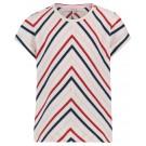 T-shirt met zigzagprint - Rosaryville - maat 104 (Geboortelijst Noor V. H. )