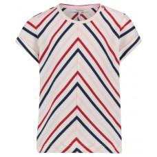 T-shirt met zigzagprint - Rosaryville