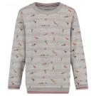 Grijze sweater met zwemmers - Roswell - maat 104 (Geboortelijst ...)