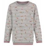 Grijze sweater met zwemmers - Roswell