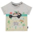 T-shirt met safaridieren - Sausolito - maat 62 (Geboortelijst Vic S.)