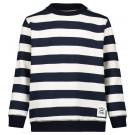 Marine gestreepte sweater - Dark sapphire sweater menasha