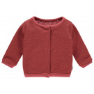 Koraalrood reversibel cardigan - Mineral red cardigan carol city