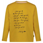 Okergele t-shirt love - Narcissus t-shirt creston