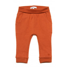 Terracottakleurig babybroekje - Spicy ginger pants humpie noos