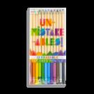 Set van 12 uitgombare potloden