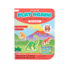 Spelletjesboek met herbruikbare stickers - Daring dino's