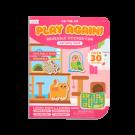 Spelletjesboek met herbruikbare stickers - Pet play land