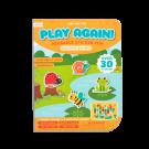 Spelletjesboek met herbruikbare stickers - Sunshine garden