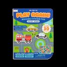 Spelletjesboek met herbruikbare stickers - Workin'wheels
