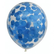 Confettiballonnen - Blauw
