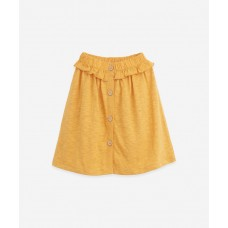 Lange gele rok - Mixed skirt sunflower
