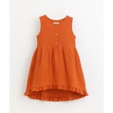 Terracottakleurig kleedje - Dress Anise