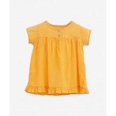 Geel kleedje - Mixed dress sunflower