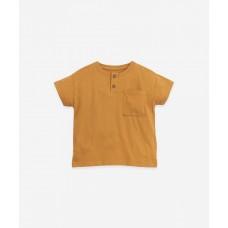 Karamelbruine t-shirt - Jersey t-shirt hazel