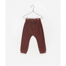 Paarsbruine broek - Double face trousers earth