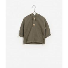 Kakikleurige trui met kap - Twill sweater legends